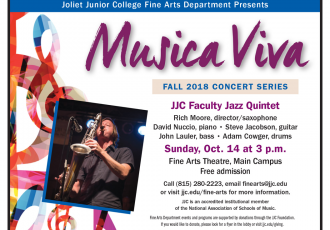 JJC Faculty Jazz Quintet – October 14