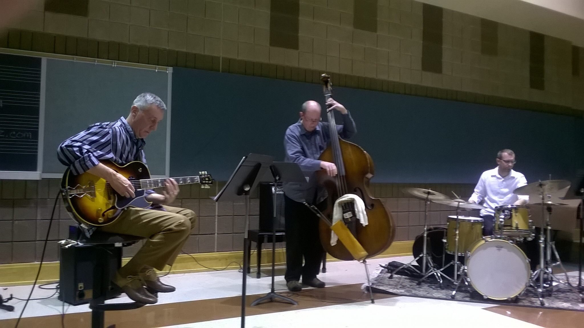 Steve Jacobson, Phil Brown, Jimmy Beers @ SIU Guitar Festival, 2015