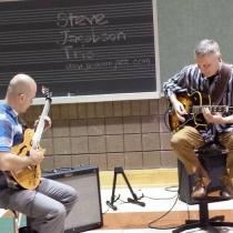 "Isaac Lausell & Steve Jacobson, duet on Miles Davis\' \""Solar\"" 11/12/15"